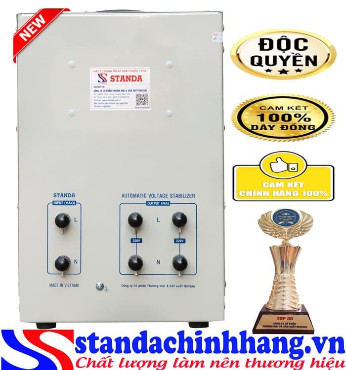 máy tự động ổn áp đa chức năng Standa 7.5KVA điện áp 50V