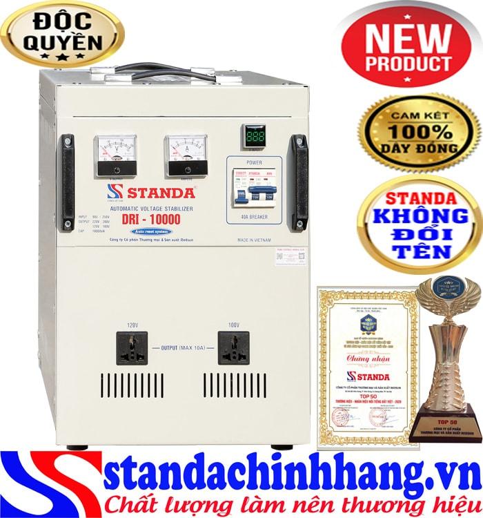 Máy tự động ổn áp đa chức năng 10KVA DRI 90V
