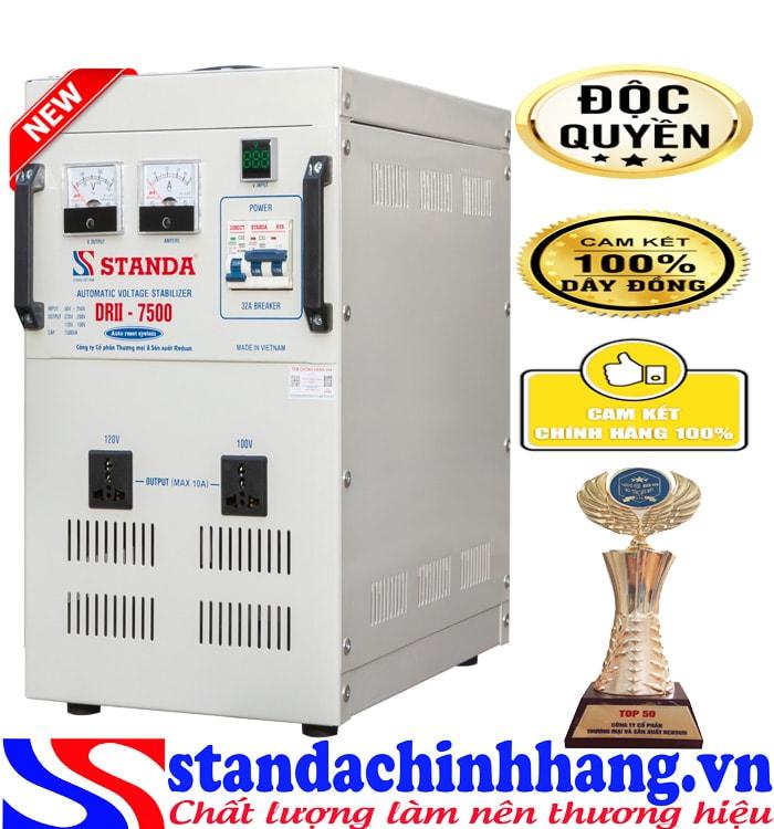 Máy tự động ổn áp đa chức năng 7.5KVA điện áp 50V