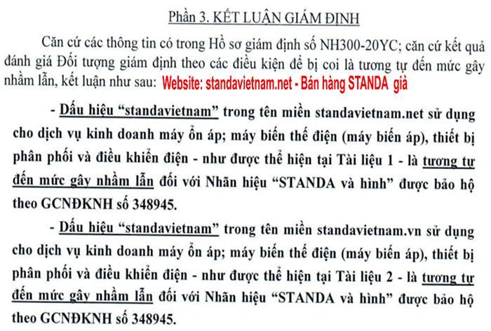 Công an vào cuôc sử lý ổn áp standa giả nhái tại Nam Từ Liêm Hà Nội