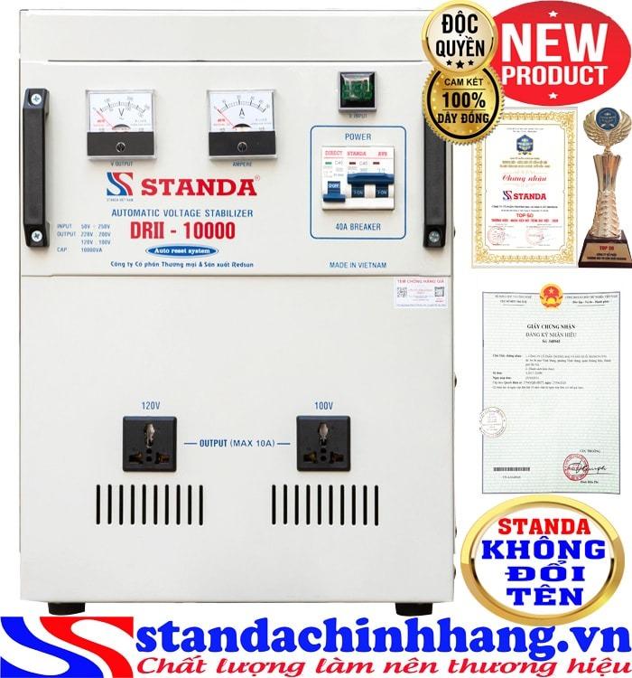 Máy ổn áp tự động đa chức năng 10KVA DRII điện áp 50V