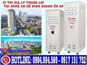 Tổng quan hệ thống điện tại Nghệ An với tiềm năng làm đại lý Standa