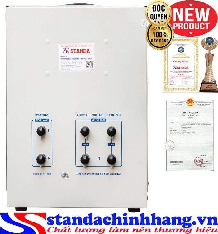 Máy tự động ổn áp đa chức năng 10KVA DRII điện áp 50V