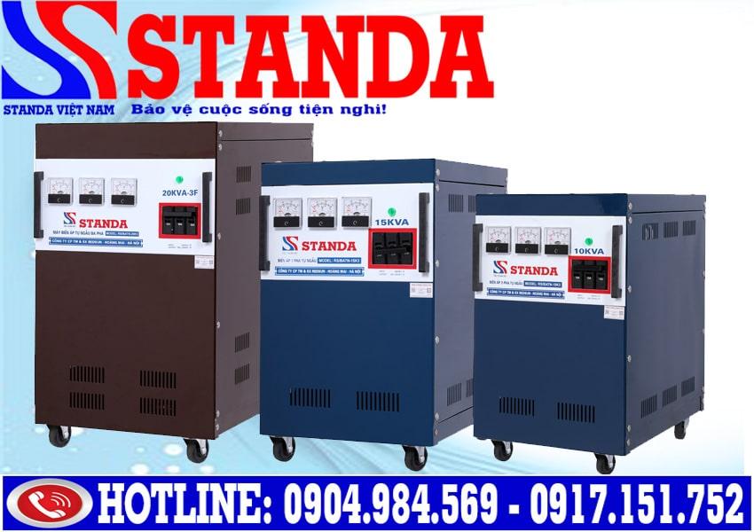So sánh biến áp Standa và ổn áp Standa