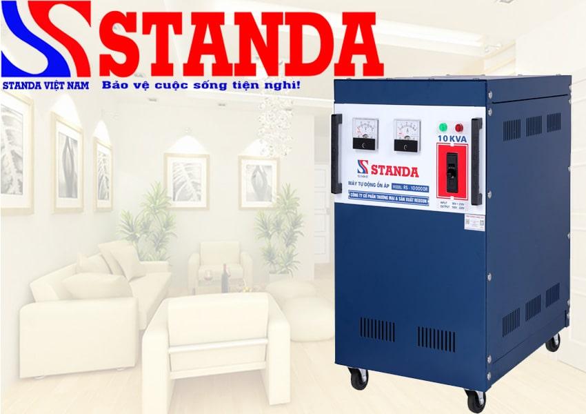 Nên mua máy biến áp Standa được hay mua máy ổn áp Standa