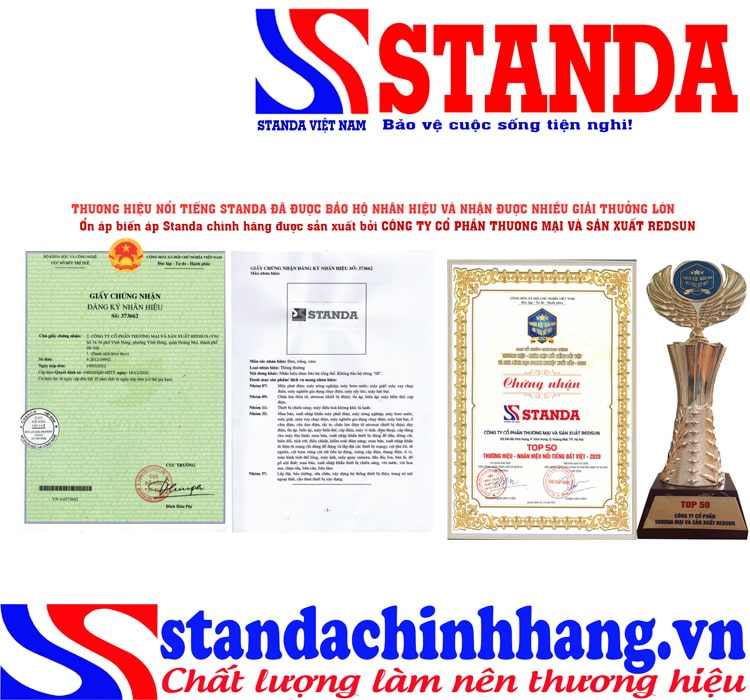 Ổn áp Standa Hoàng Mai – Nhà Máy độc quyền sản xuất STANDA