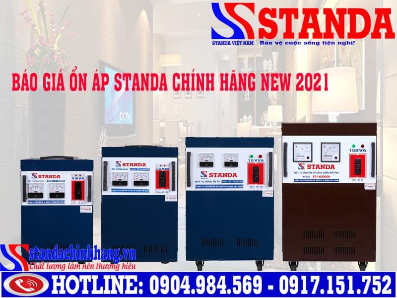 Giá ổn áp Standa chính hãng chiết khấu cao nhất [New 2021]