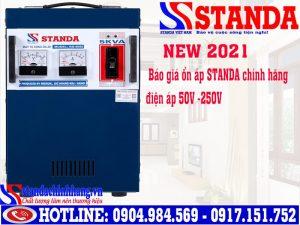 Giá thành ổn áp Standa 5kva RS-5000DRI (dải 50v - 250v) 2,400,000Đ