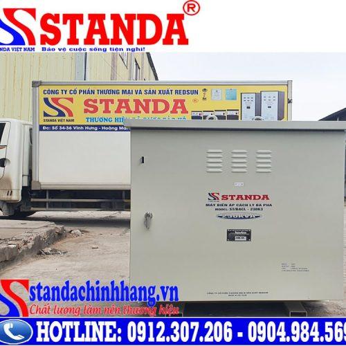 Xuất khẩu máy biến áp cách ly 230KVA sang Lào