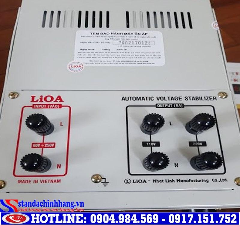 ổn áp Lioa 5Kva chất lượng tốt nhất