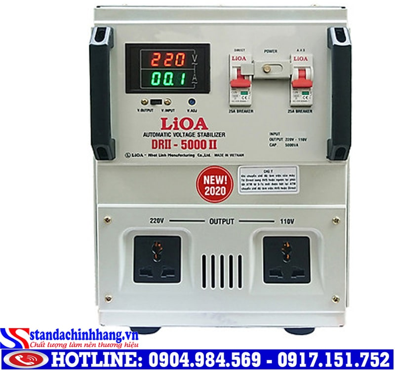 Giá ổn áp LIOA 5kva bao nhiêu?