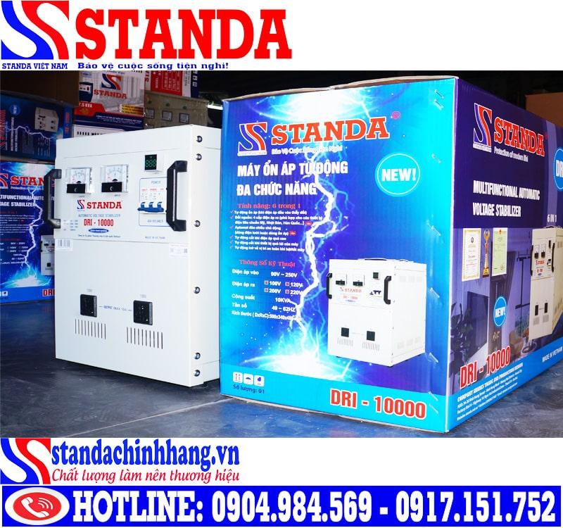 Thử độ bền của máy ổn áp STANDA 10KW