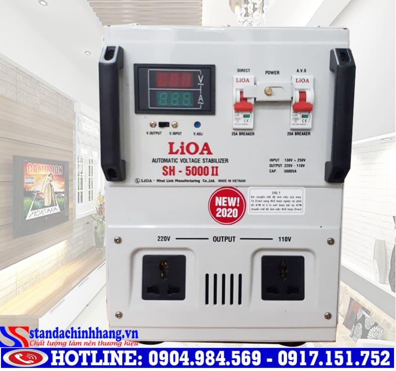 Kích thước ổn áp LIOA 5kva