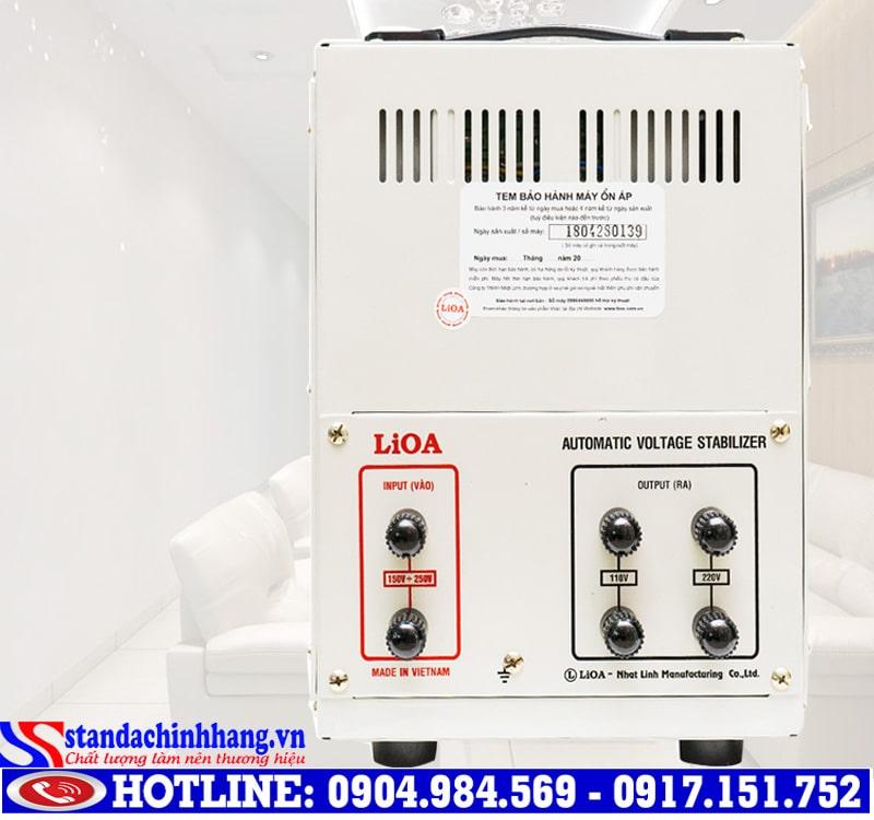 Hướng dẫn lựa chọn ổn áp Lioa 5KVA với kích thước phù hợp