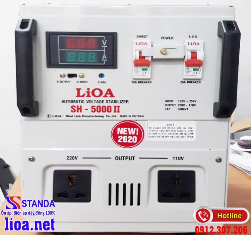 Chọn mua ổn áp LIOA 5KVA chính hãng