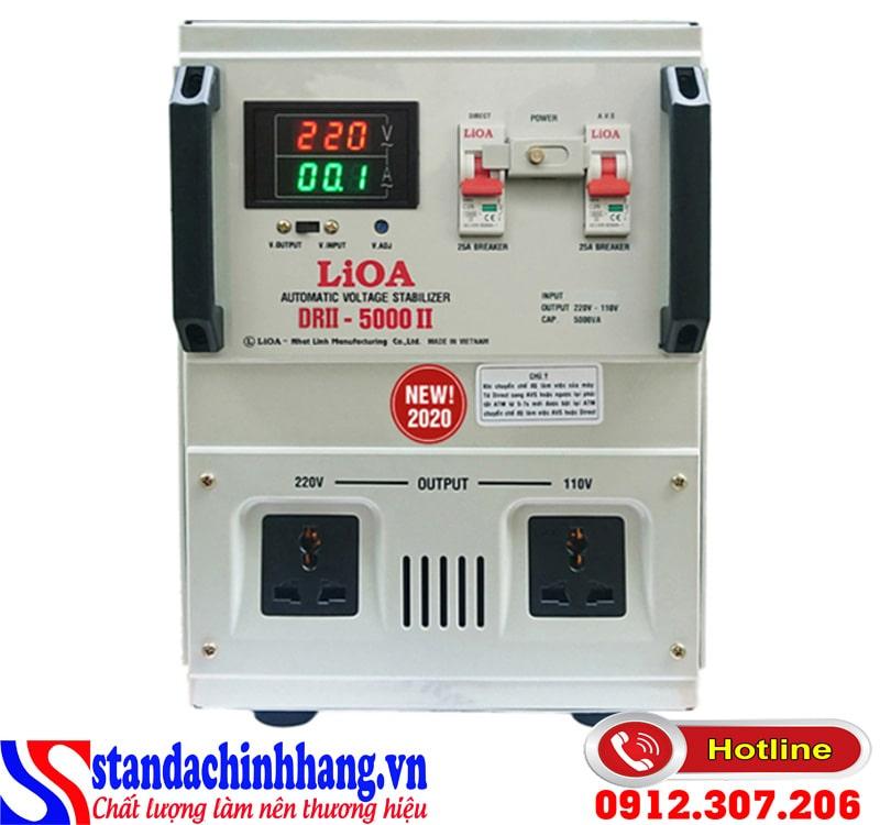 Ổn áp LIOA 5KVA dải 50V – 250V