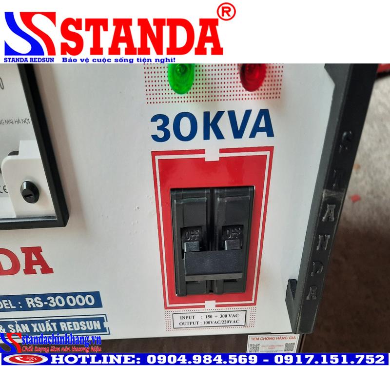 Tác dụng của ổn áp standa 30kva 1 pha