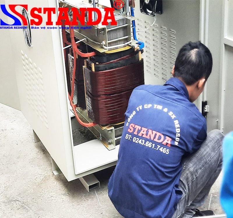 biến áp cách ly STANDA 230KVA dây đồng chính hãng