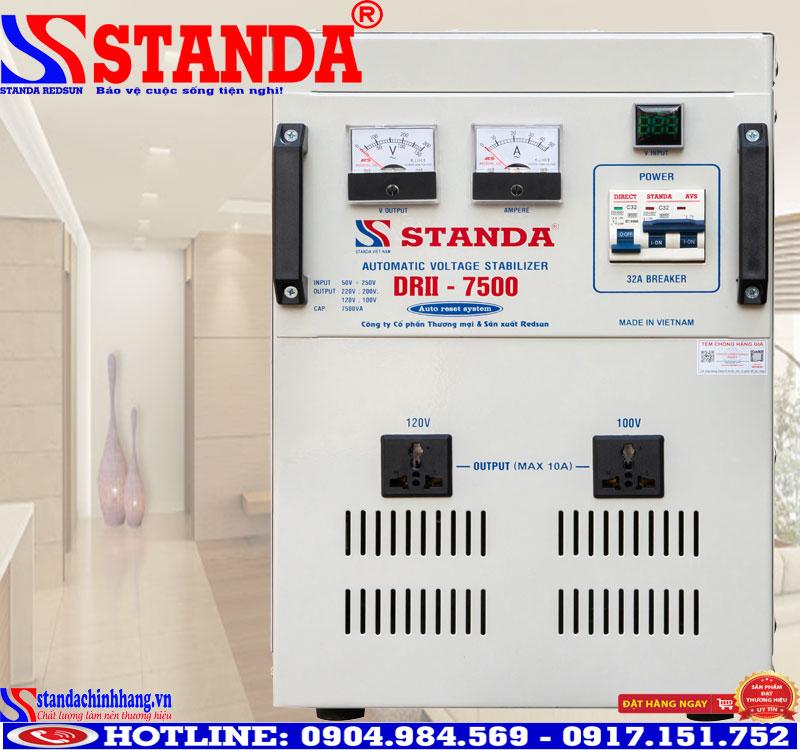 Máy ổn áp gia đình Standa 7.5KVA