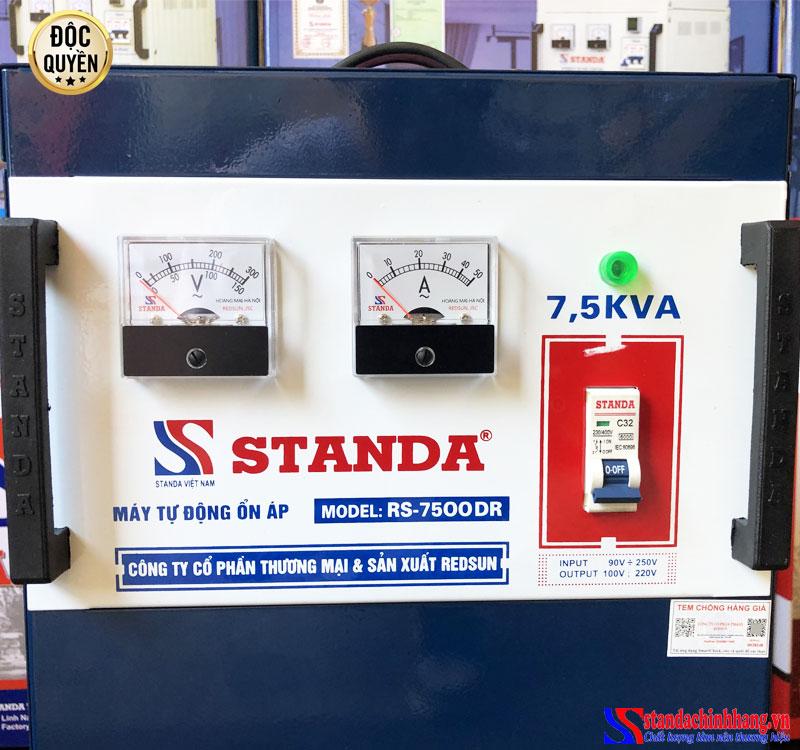 Ảnh đồng hồ ổn áp Standa 7.5KVA điện áp 90V