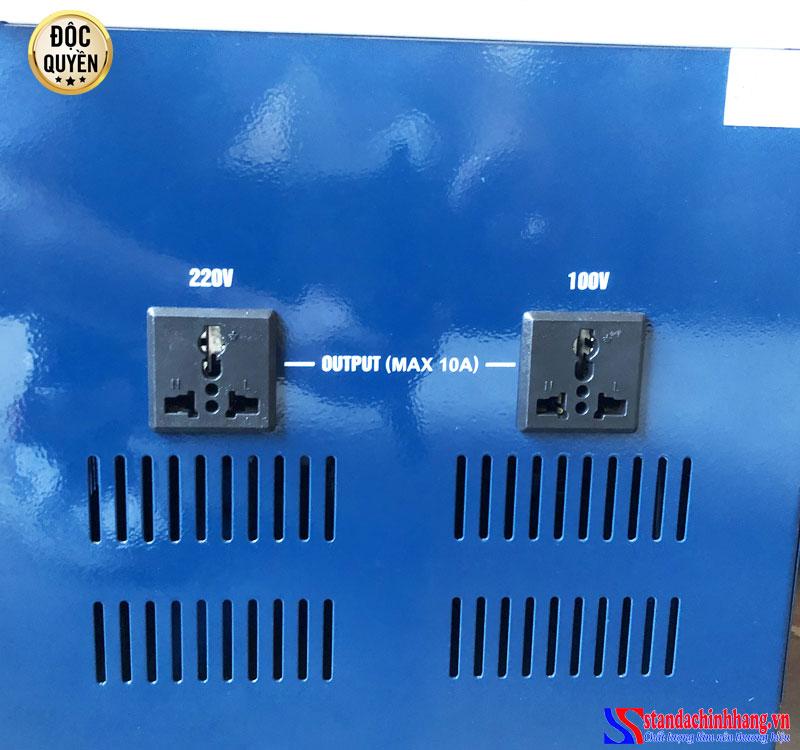 Sử dụng ổn áp STANDA 10KVA dải điện áp 150V Redsun nên chú ý gì