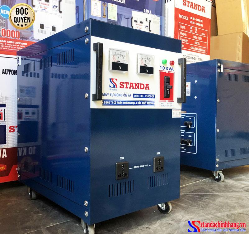 Ổn áp standa 10Kva điện áp 90V -250V chính hãng redsun