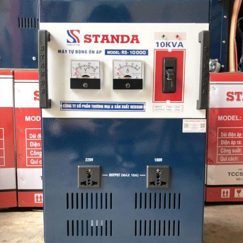 Ổn áp Standa 10KVA dải điện áp 150V