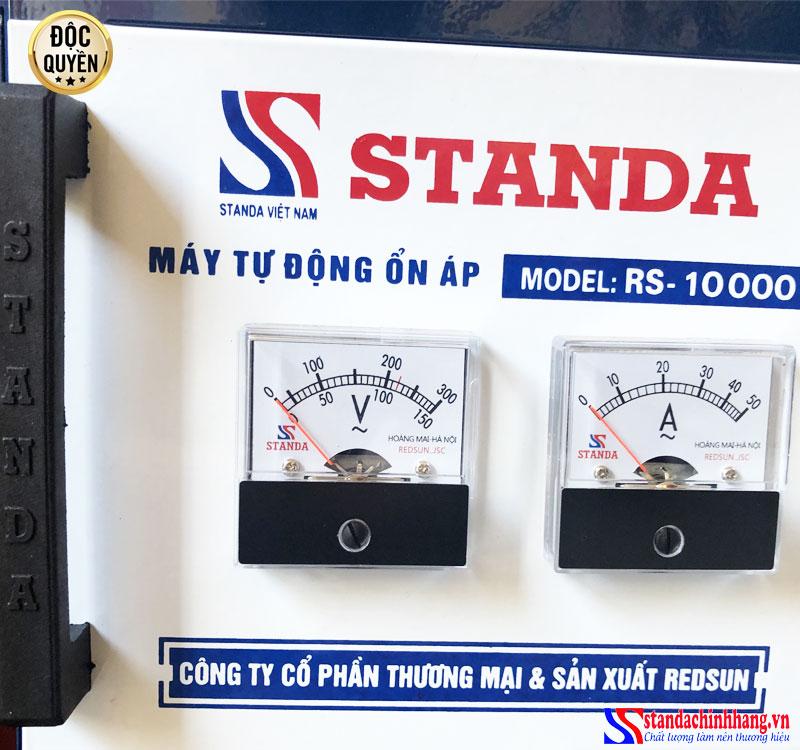 Những điểm khác biệt của ổn áp STANDA 10KVA dải điện áp 150V Redsun