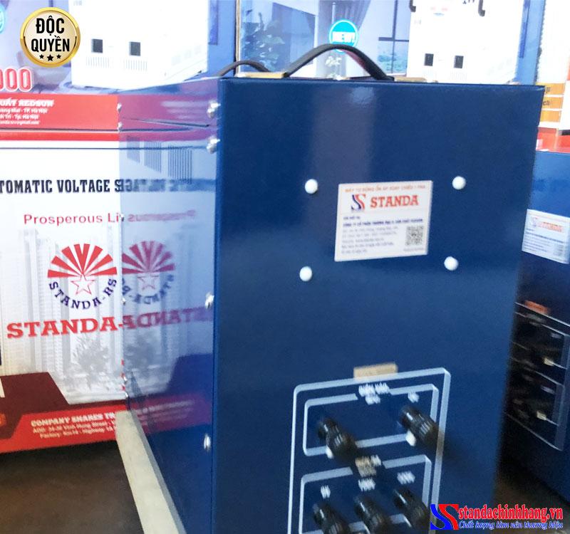 Ổn áp STANDA 10kva dải (150V - 250V) sử dụng 4 chổi than