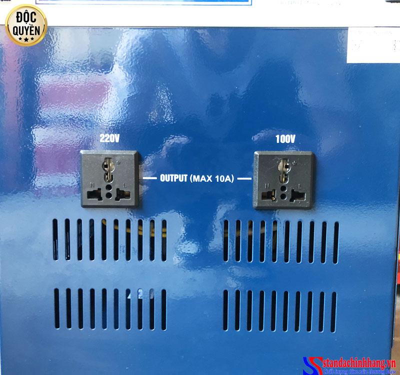 Ảnh chi tiết 2 ổ cắm điện áp 50V - 250V