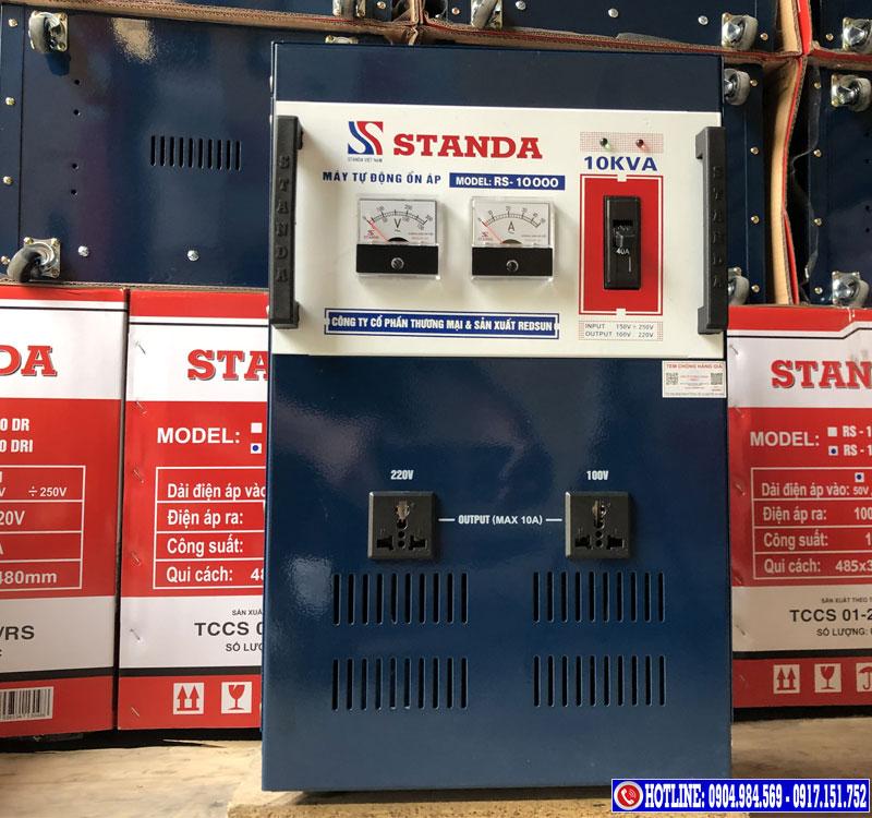 Ổn áp STANDA Redsun được trang bị nhiều tính năng ưu việt