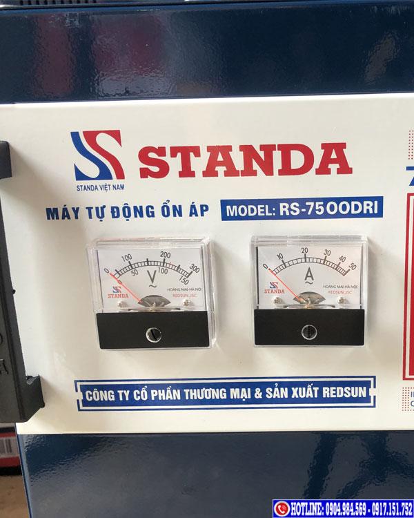 ổn áp 7.5 kva dri Standa dải 50V