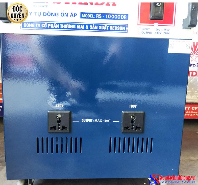 Ổn áp Standa 10KVA dải điện áp 90V -250v