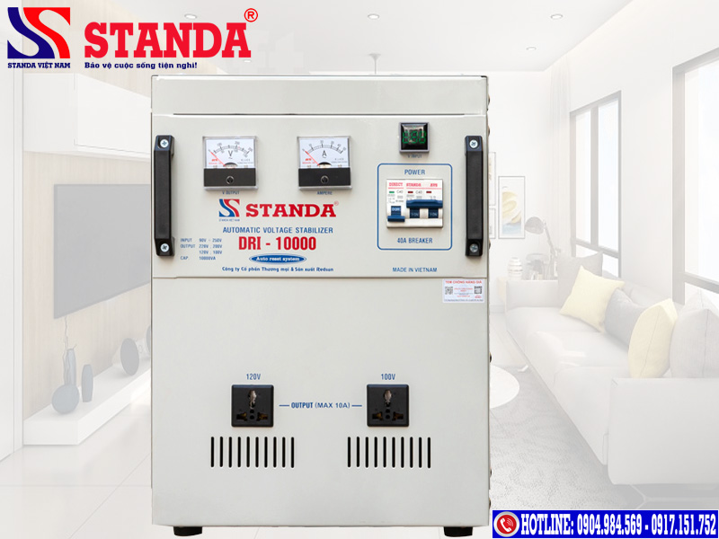 Các dòng máy ổn định điện áp