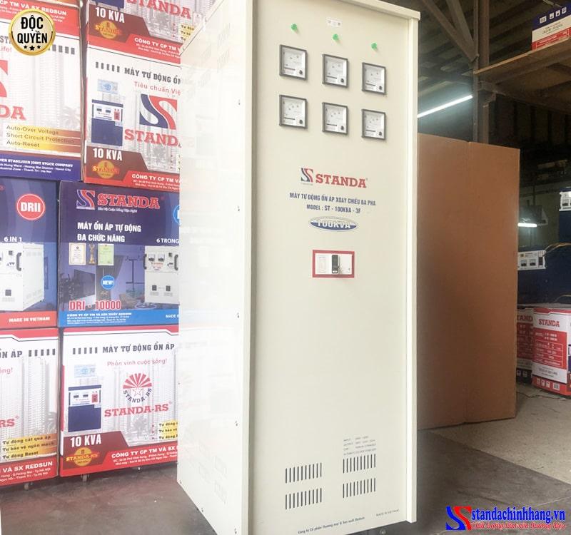 ổn áp Standa 100KVA dải 260V dây đồng 100% chính hãng