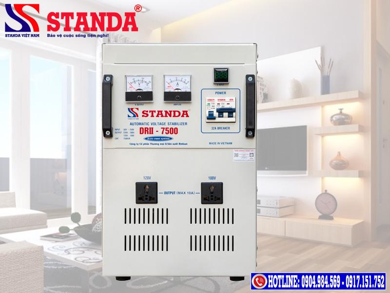 Cách chỉnh điện ra ổn áp STANDA để ổn áp hoạt động tốt nhất