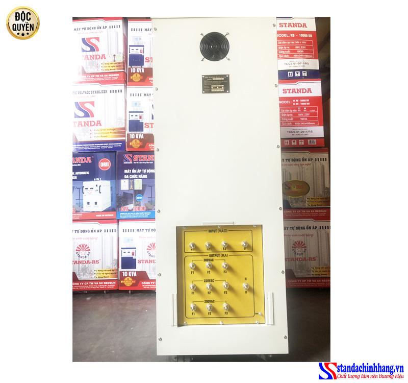 Hình ảnh chi tiết ổn áp Standa 100KVA 3 pha dây đồng chính hãng