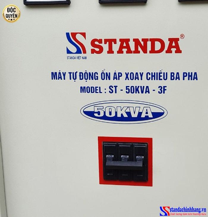 Ổn áp STANDA 50KVA 3 pha phù hợp với mọi đối tượng