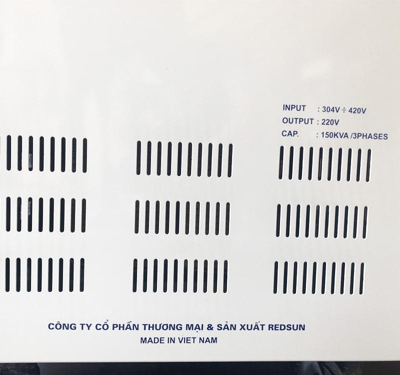 Ổn áp tích hợp biến áp Standa 3 pha 150KVA