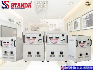 Ưu điểm của ổn áp kéo điện STANDA