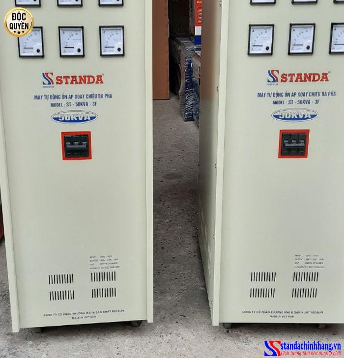 Thiết kế ổn áp 3 pha STANDA 50kva chuẩn công nghiệp