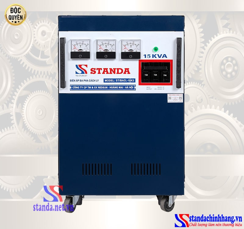 máy biến áp cách ly Standa 15KVA là gì
