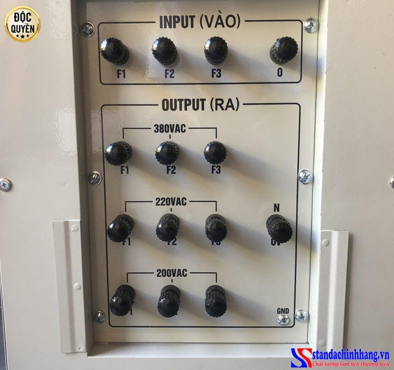 ổn áp Standa 20KVA 3 pha dải 260V dây đồng