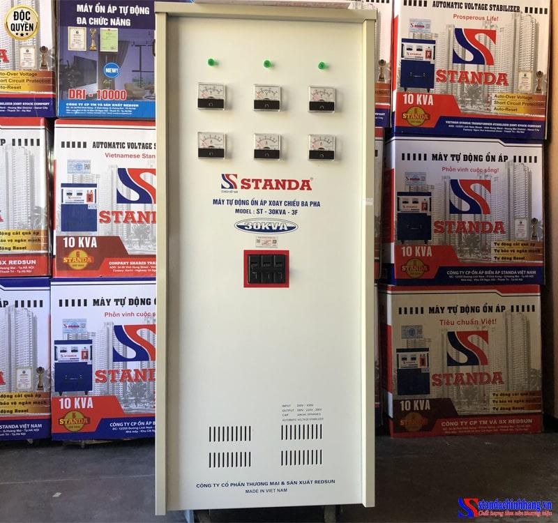 hình ảnh ổn áp Standa 30KVA 3 pha chính hãng