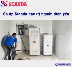 Ảnh ổn áp Standa đặc trị nguồn điện yếu