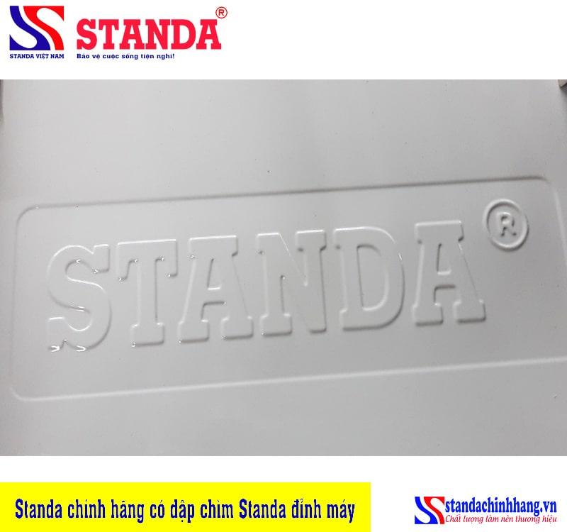 Ổn áp Standa chính hãng với dập chỉm Standa đỉnh máy - cách phân biệt ổn áp Standa giá nhái
