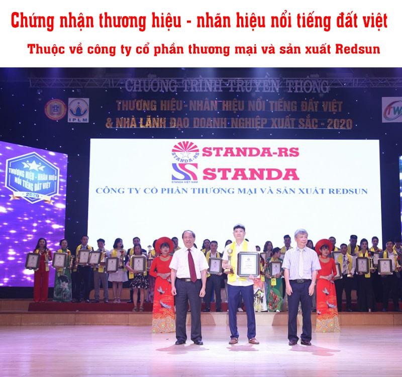 [New 2021] Lễ công bố giải thưởng thương hiệu nổi tiếng đã thuộc về Standa
