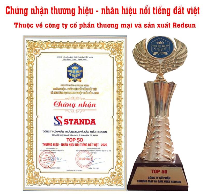Ảnh ổn áp Standa nhận giải thưởng thương hiệu nổi tiếng