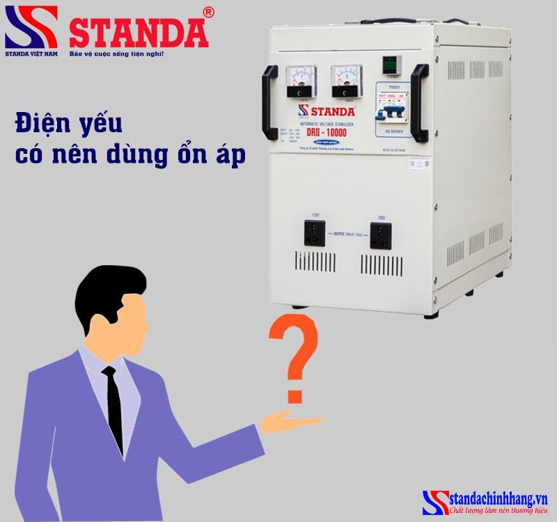 Điện yếu có nên dùng ổn áp? cách khắc phục điện yếu đơn giản tại nhà