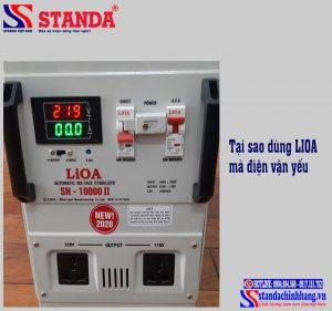 Dùng LIOA mà điện vẫn yếu chúng ta nên làm gì